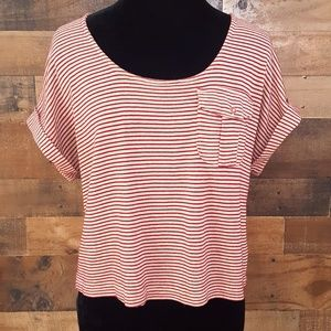 Urban Outfitters Pins and Needles Striped Crop Top